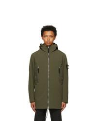 Stone Island Khaki Edye Soft Shell R Light Coat
