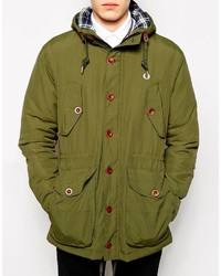 Fred perry light parka