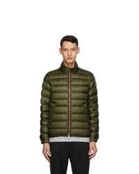 Olive Lightweight Puffer Jacket