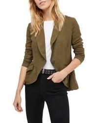 Linen blend blazer medium 4154866
