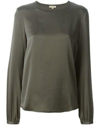 P.A.R.O.S.H. Classic Round Neck Blouse