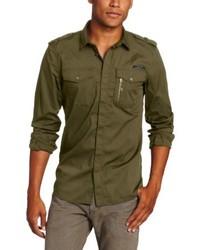 Diesel Siranella S Poplin Button Front Shirt