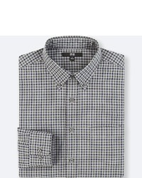 Uniqlo Extra Fine Cotton Broadcloth Long Sleeve Shirt