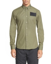 Givenchy Extra Trim Fit Shirt With Removable Patch