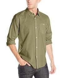 Fourstar Over Dye Long Sleeve Woven Shirt