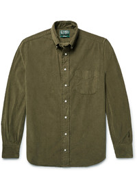 Gitman Brothers Gitman Vintage Button Down Collar Cotton Corduroy Shirt
