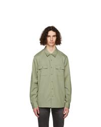 Frame Green Double Pocket Shirt