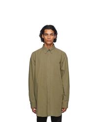 Maison Margiela Green Oversized Shirt
