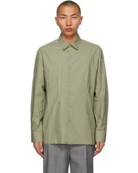 Ader Error Khaki Seam Shirt