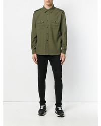 Saint Laurent Military Effect Shirt