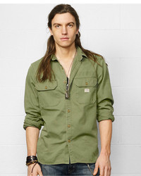 Denim & Supply Ralph Lauren Military Inspired Sport Shirt