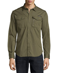 Diesel Military Shirt Green