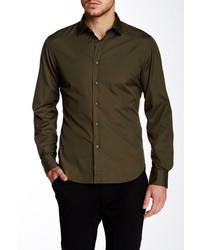 Todd Snyder Modern Fit Solid Shirt