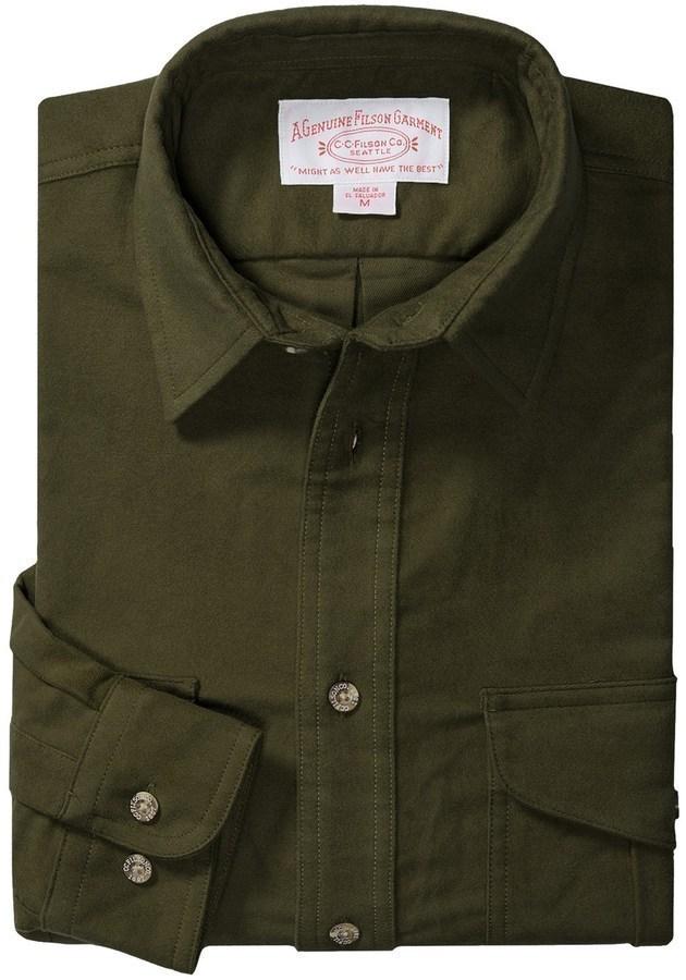 Filson Moleskin Shirt Long Sleeve