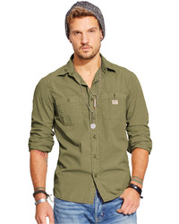 Denim & Supply Ralph Lauren Poplin Workshirt