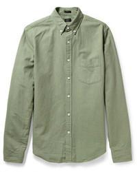 J.Crew Slim Fit Button Down Collar Cotton Oxford Shirt