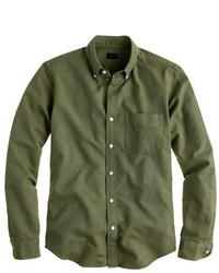 J.Crew Slim Vintage Oxford Shirt In Tonal Cotton