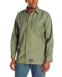 R&K Wrangler Workwear Long Sleeve Work Shirt