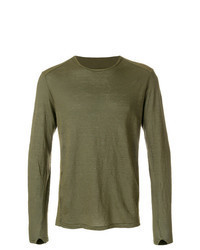 Olive long sleeve t shirt original 9727365