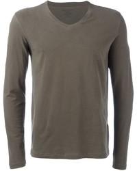 Longsleeved v neck t shirt medium 820271