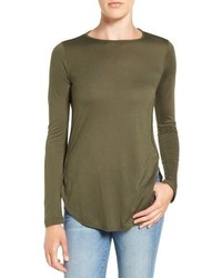 Nicolette long sleeve tee medium 793597