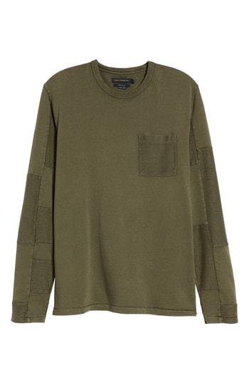 b9473f2bd42 French Connection Patchwork Long Sleeve T Shirt, $44 | Nordstrom ...