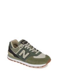 buy popular eae83 8c78a Men's Olive Low Top Sneakers by New Balance | Men's Fashion ...