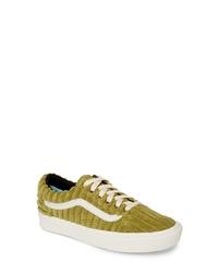 vans old skool suede and gum kahki sneakers