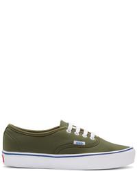 Vans Green Schoeller Edition Authentic 66 Lite Lx Sneakers