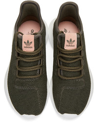 the latest f4bf5 84db2 adidas Originals Green Tubular Shadow Sneakers, $110 ...