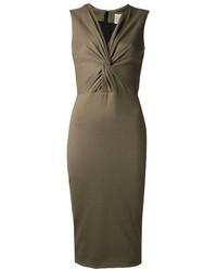 Jason Wu Twist Front Midi Dress