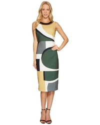 Laundry by Shelli Segal Midi Dress With Cut Out Back Detail Dress