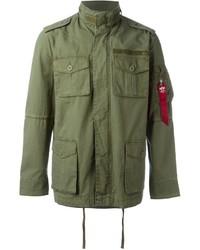 Alpha Industries Multiple Pockets Military Jacket
