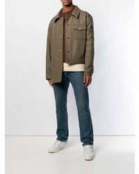 Gosha Rubchinskiy Asymmetric Military Jacket