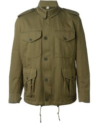 Burberry Brit Classic Military Jacket