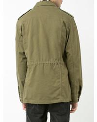 Saint Laurent Collared Military Jacket