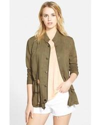 Hinge Drapey Military Jacket