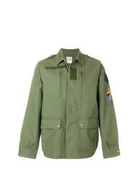 Zadig & Voltaire Embroided Military Kido Brod Parka