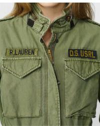 Denim Military Lauren Where Ralph To Hooded Supply Jacket Field amp; U6wrUqv