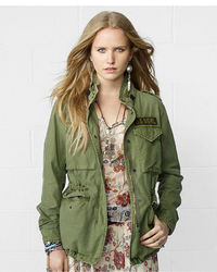 Denim & Supply Ralph Lauren Hooded Military Field Jacket
