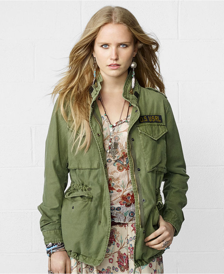 Denim and supply army jacket