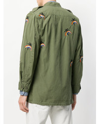 As65 Jungle Embroidered Military Jacket