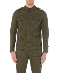 DSQUARED2 Kaban Military Stretch Cotton Jacket