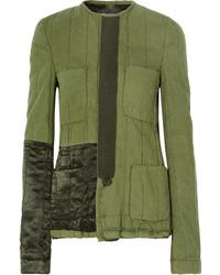 Haider Ackermann Med Quilted Cotton Jacket