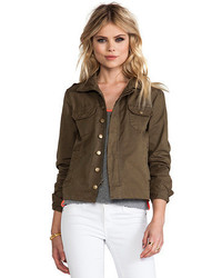 Bobi Military Button Up Jacket