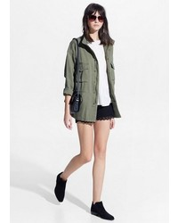 Mango Outlet Military Style Jacket