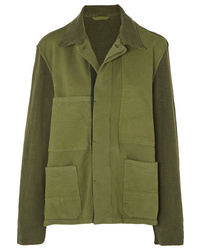 Haider Ackermann Paneled Cotton Jacket