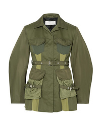 MARQUES ALMEIDA Paneled Shell And Drill Jacket