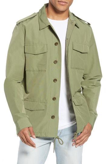 Frame Pc Slim Fit Military Jacket