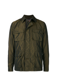 Sealup Pocket Front Shirt Jacket